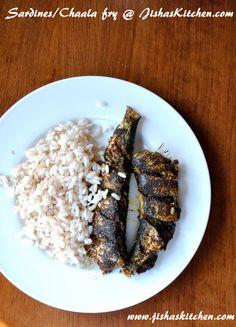 ! Jisha's Kitchen !: Kerala mathi fry - Indian Recipes, Kerala Nadan Recipes, Kuttanadan Recipes