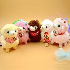 $2.78 (Buy here: https://alitems.com/g/1e8d114494ebda23ff8b16525dc3e8/?i=5&ulp=https%3A%2F%2Fwww.aliexpress.com%2Fitem%2F1pcs-Plush-animal-toys-Alpaca-soft-and-stuffed-animal-dolls-12cm%2F32617041739.html ) 5 styles 12cm Alpaca Plush toy soft stuffed animal kawaii Alpaca Arpakass toys for kids children birthday gifts Alpacasso dolls  for just $2.78