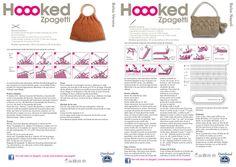 El blog de Dmc: Nuevos kits ganchillo XL con Hoooked Zpagetti Free Crochet Bag, Crochet Purses, Crochet Yarn, Purse Patterns, T Shirt Yarn, Knitted Bags, Purses And Bags, Fancy, Blog