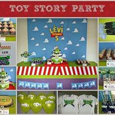 Buzz lightyear 5th party - Toy Story