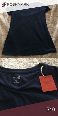 Women's Mossimo Blue Tee Shirt Women's Mossimo Blue Tee Shirt Size Small Mossimo Supply Co Tops Tees - Short Sleeve