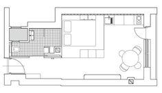 Jurnal de design interior: Amenajare modernă și practică într-o garsonieră de 30 m² din Budapesta
