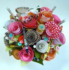 50 Bastelideen aus Papier - Blumen, Girlanden und Türkränze: