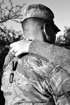 I want this with you;). Military wife; Air Force life <3 Airforce Wife, Usmc, Air Force Love, Air Force Girlfriend, Air Force Wedding, Military Spouse, Military Families, Military Pictures, Support Our Troops