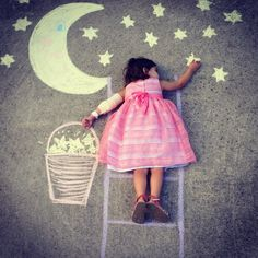 Image result for chalkboard drawings kid