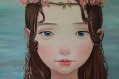 小美人鱼2013年9月作品,布-Ying的画儿