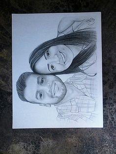 #retrato #pareja #novios