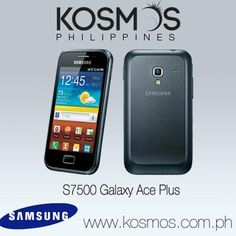 Be classy with this Android phone with shimmering accents of chick black colour palette!  http://www.kosmos.com.ph/product/20350051/samsung-s7500-galaxy-ace-plus-smartphone-blue