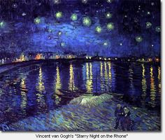 Starry Night by Vincent Van Gogh at the Musee D'Orsay in Paris