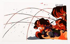 Akira / Cel / x A Clown biker is taken out during the opening battle. Courtesy of Joe Peacock Game Character Design, Character Design References, Character Art, Digital Painting Tutorials, Art Tutorials, Comic Book Layout, Animation News, Sketchbook Inspiration, Visual Effects
