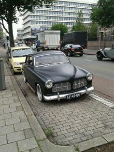 Volvo V70r, Volvo Cars, Matte Black Cars, Volvo Amazon, Cool Old Cars, Rims For Cars, Car Tuning, Car In The World, My Ride