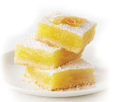 Lovely Lemon Squares | Splenda Recipes | Swap and Drop | Best Health