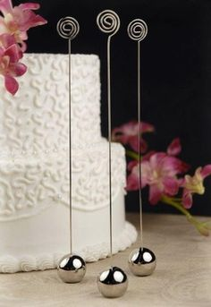 Table Number Holder Wire 9in (Set of 6)
