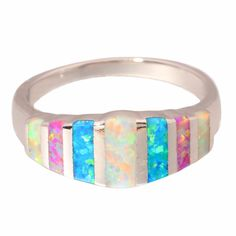 Colorful Boho Style Ring with Beautiful Opals //Price: $26.76 & FREE Shipping //     #hashtag2