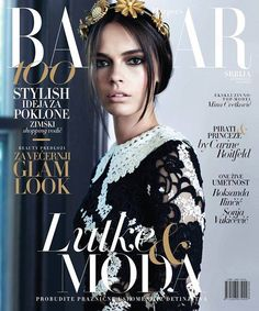 Mina Cvetkovic for Harper's Bazaar Serbia December 2015