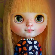 Custom blythe doll by BlytheinWonderland on Etsy