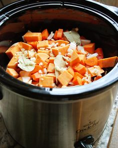 Multiply Delicious- The Food | Slow Cooker Chicken, Sweet Potato, and Kale Stew