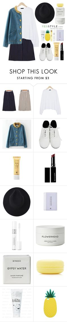 """""""Date outfit"""" by sugar-queen-341 ❤ liked on Polyvore featuring Witchery, Christian Dior, Byredo, Forever 21, Miss Selfridge and Versace"""