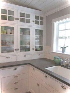 69 Luxury White Cottage Kitchen Cabinets Ideas 66