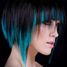 Blue! But would love to do something like that but with purple/deep red!!