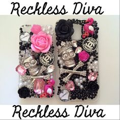 RecklessProminence  - Handcrafted Kawaii Phone Cases - on Etsy