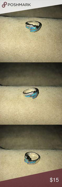 Selling this Fire Opal Ring on Poshmark! My username is: kemilby. #shopmycloset #poshmark #fashion #shopping #style #forsale #Jewelry