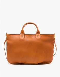 clare v messenger bag in british tan | via need supply co