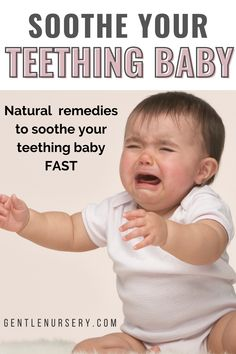 For some babies teething causes minor discomfort but for others it can be much more painful. If your baby is irritable, has swollen gums, sleeping problems and difficulty eating due to teething, these teething remedies will help soothe your baby's sore gums and even help both baby and mom sleep better. Also get answers to Teething FAQs   Teething baby hacks, Teething baby remedies, Natural teething remedies, Teething baby symptoms, Teething baby remedies sleep, Soothe your teething baby at night Baby Teething Symptoms, Baby Teething Remedies, Natural Teething Remedies, Moms Sleep, Baby Sleep, Swollen Gum, Healthy Baby Food, Baby Skin Care
