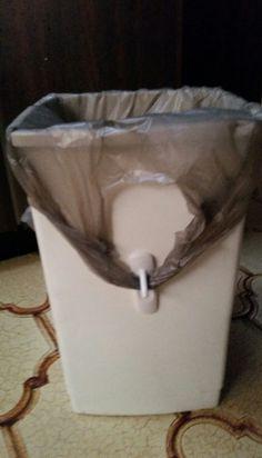 Zo zakt je vuilniszak niet steeds naar benden