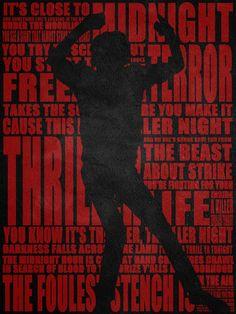 #Thriller - #MichaelJackson - #Poster