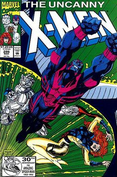Uncanny X-Men # 286 by Jim Lee  Auction your comics on www.comicbazaar.co.uk