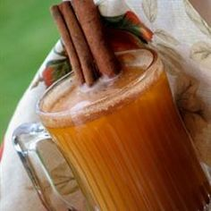 Spiced Autumn Punch Recipe - delicious bonfire night warmer