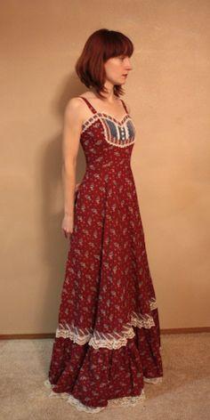 Gunne Sax Dress - wish I hadn't sold this one! https://www.etsy.com/shop/soulrust