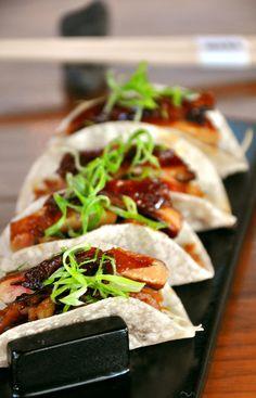 Habanero beef taco