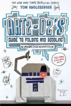 Guide to Folding and Doodling (An Origami Yoda Activity Book) by Tom Angleberger 1419720287 9781419720284 Star Wars Origami, Origami Yoda, Star Wars Books, Star Wars Characters, Basic Origami, Origami Models, Origami Tutorial, Book Activities, Cool Gifts