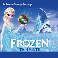 Frozen.  Is there any other way?