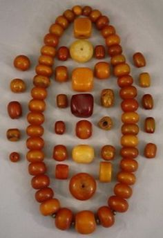 Copal amber - Gallery of Trade Beads African Slave Beads African Currency Ethnic Jewelry, African Jewelry, Amber Jewelry, Beaded Jewelry, Handmade Jewelry, Beaded Bracelets, Amber Necklace, Necklaces, Jewellery