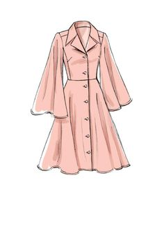 Schnittmuster Vogue 9345 Rascol Source by c. - Schnittmuster Vogue 9345 Rascol Source by - Dress Design Sketches, Fashion Design Drawings, Fashion Sketches, Fashion Illustrations, Dress Designs, Illustration Fashion, Fashion Design Sketchbook, Clothes Draw, Drawing Clothes