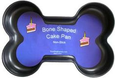 Dog Birthday Bone Shaped Cake Pan for Dogs Dog Bone Cake, Pug, Shaped Cake Pans, Dog Birthday, Birthday Cake, Birthday Ideas, Dog Cakes, Pet Treats, Animal Party