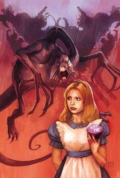 Buffy in wonderland