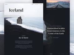 Iceland dribbble 2
