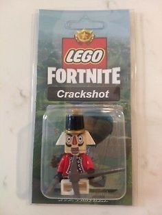 NEW LEGO Custom Crackshot Minifig Fortnite Battle Royale Skins Pickaxe