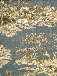 Pointer Navy. P. Kaufmann Toile.