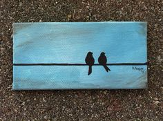 "Two birds ""Together"" on Etsy, $10.00"