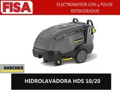HIDROLAVADORA HDS 10/20 Electromotor con 4 polos refrigerados- FERRETERIA INDUSTRIAL -FISA S.A.S Carrera 25 # 17 - 64 Teléfono: 201 05 55 www.fisa.com.co/ Twitter:@FISA_Colombia Facebook: Ferreteria Industrial FISA Colombia