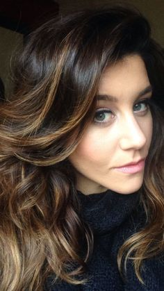 2016 Trendy Highlights for Dark Brown Hair | Haircuts, Hairstyles 2016 and Hair colors for short long medium hairstyles