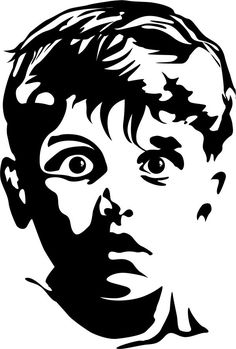Gollum lord of the rings stencil template | Stencil bibi ...