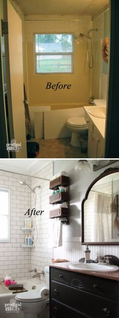 37 Small Bathroom Makeovers
