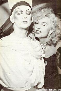 Boy George and Marilyn