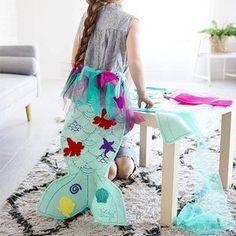 The Little Mermaid Design Your Own Mermaid Tail Craft Set by Seedling Kids Karaoke Machine, Good Night Story, Best Gifts For Her, Disney Merchandise, Puzzles For Kids, 5 Year Olds, Disney S, Dog Design, Design Your Own